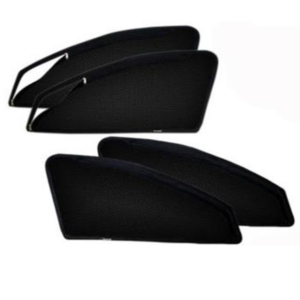Maruti Suzuki A STAR, Car Accessories Side Window Zipper Magnetic Sun Shade, Set of 4 Curtains.