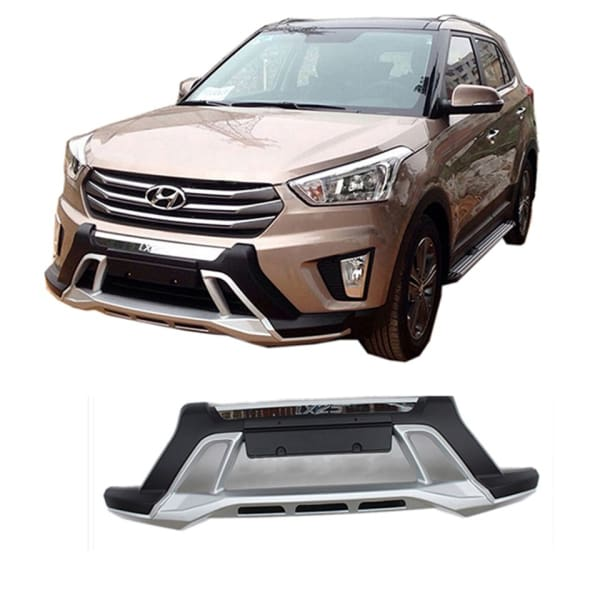 AutoDivine ABS Front And Rear Bumper Guard Hyundai Creta – Auto Divine