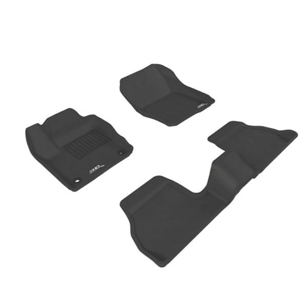 3d kagu Foot Mats Black (3)