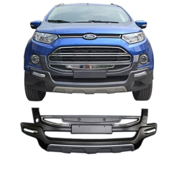 Autodivine Front And Rear Bumper Guard For Ford Ecosport