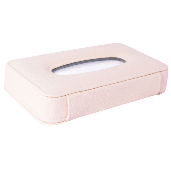 Luxury Pu Leather Tissue Box 50 Pulls 100 Sheets 1 Ply Beige For Audi S Line Design Rs7 Sportback