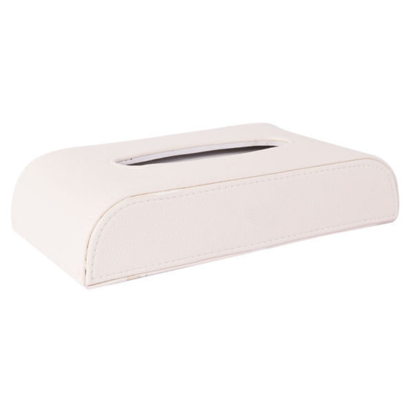 Luxury Pu Leather Tissue Box -50 Pulls  100 Sheets -1 Ply