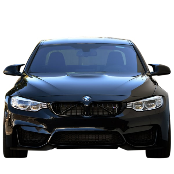 M Sports Grill For Bmw F30 M3 Design Gloss Black Auto Divine