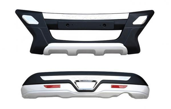 Maruti Suzuki S Cross Blow Molding Front Bumper Guard And Rear Bumper Guard Auto Divine